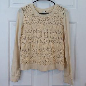 Anthropologie Akemi+Kin Sequin Sweater Size XS
